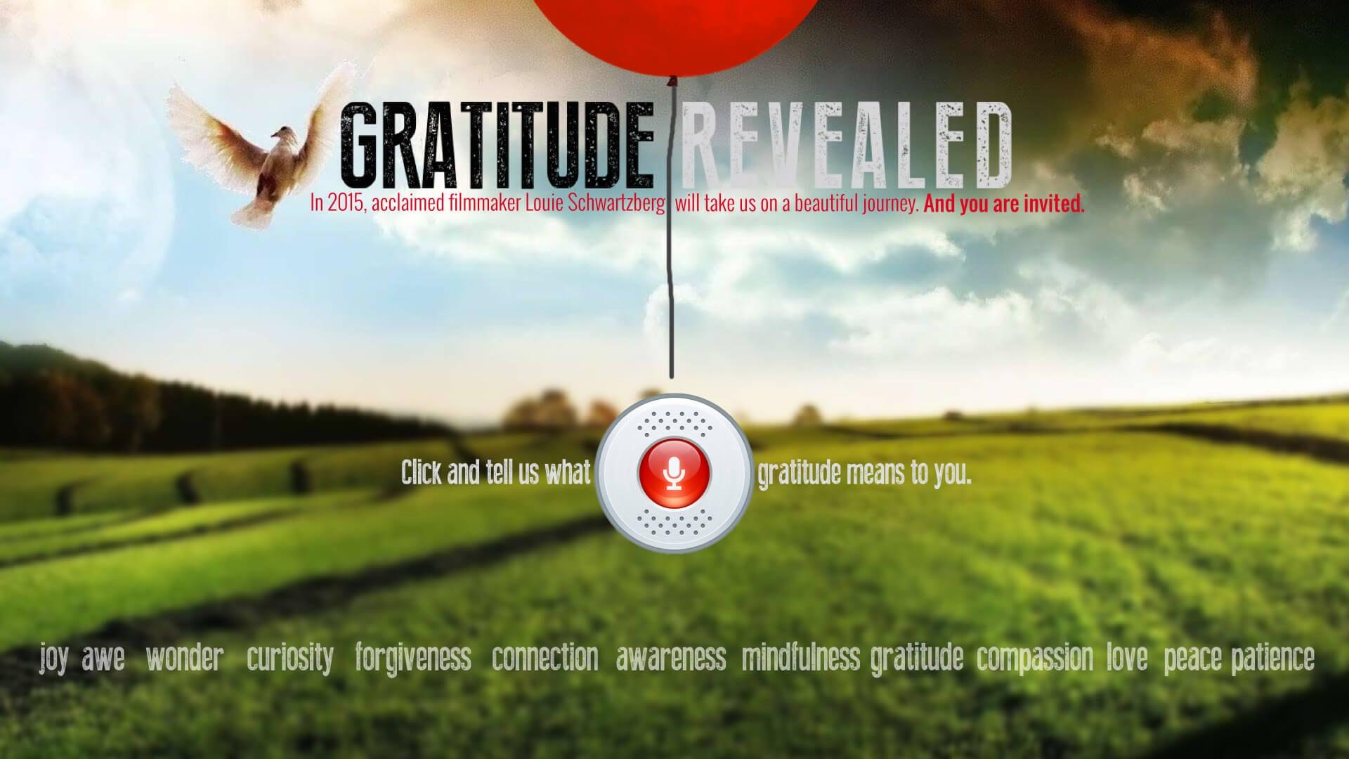 Gratitude Revealed - Join The Journey