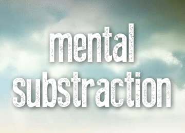 mental-substraction