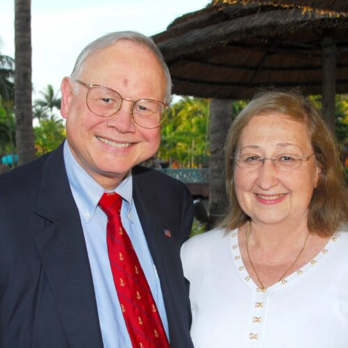 John M. Templeton, Jr. and Pina Templeton, Nassau, June 2007