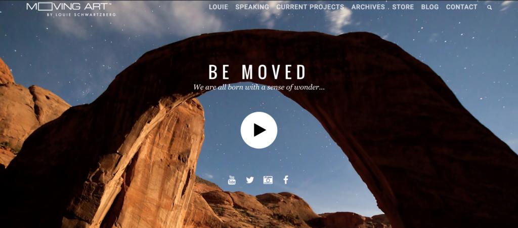 Moving Art by Louie Schwartzberg - Award-winning Filmmaker